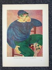 """Henri Matisse """"Young Sailor"""" & Albert Marquet """"The Seashore at Fecamp"""" Reprint"""