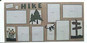 Take Hike Patterns Paper Punchies Paper Piecing Scrapbook Page Kit 12 x 12