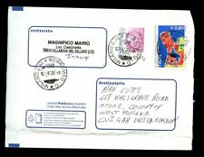 Italy 2005 Airmail Cover To UK #C2180