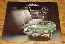 Original 1973 Pontiac Ventura Foldout Sales Brochure 73 Custom