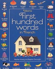 First Hundred Words in French (pb) by Heather Amery NEW Learn French