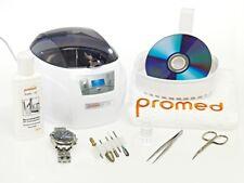 Promed UC-50 Nettoyeur à Ultrasons, 550 ML Inox, Timerfunktion, Avec Accessoires