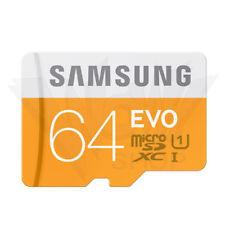 Samsung EVO 64GB Micro SD SDXC 48MB/s UHS-I Class10 TF Card