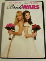 Bride Wars (DVD, 2009, Canadian) Kate HUDSON, Anne Hathaway Movie Film wedding !