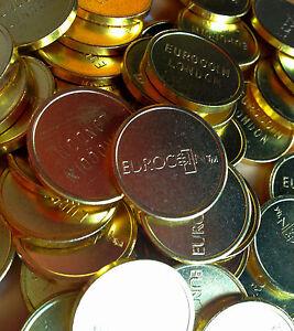 50 x BRAND NEW EUROCOIN LONDON SUNBED TOKEN DIRECT REPLACEMENTS 003 TIMER TOKEN
