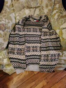 TOMMY HILFIGER Men's Wool Blend  Pullover Sweater
