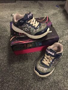 Girls Sketchers Trainers - size 10.5