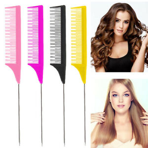 Hairdressing Hair Comb Highlight Foiling One-way Sectioning Weave Professional
