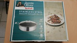 Tefal Jamie Oliver Servierpfanne mit Glasdeckel ca.25 cm Durchmesser OVP Küche