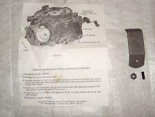 1965 1966 Chevrolet 1966 Buick Quadrajet Carburetor Service Campaign/Recall Kit