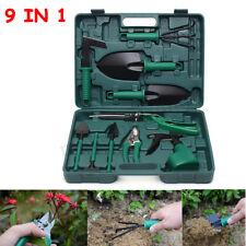 10PCS Carbon Steel Gardening Garden Bonsai Tool Kit Cutter Scissors