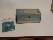 Vintage Western Electric Rotary Princess White Telephone 702-B-58 box & Pamplet