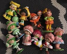 Vtg Strawberry Shortcake Avon Jellybean Mini Pvc Lot Cake Topper Figures