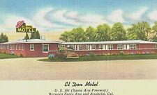 VIntage Postcard-El Don Motel, U.S 101, Anaheim, CA
