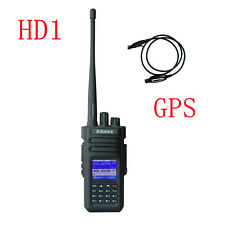 Ailunce HD1 UHF/VHF 3000CH 10W 3200mAh Dual Band DMR-Digital Radio(GPS) IP67&USB