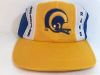 Vintage Los Angeles Rams NFL Trucker Mesh Snap back Hat