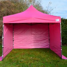 More details for 3m x 3m pink heavy duty showstyle commercial grade gazebo, market stall, pop up
