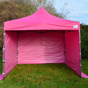 3m x 3m Pink Heavy Duty SHOWSTYLE Commercial Grade Gazebo, Market Stall, Pop Up