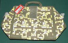 NEW GENUINE PUMA NEO GRIP TRAVEL CLOTHING BAG BURNT OLIVE FLUO YELLOW LUGGAGE