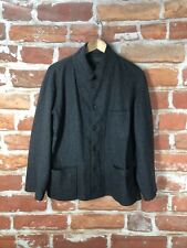 $895 Engineered Garments M/L Military Army Officer Charcoal Gray Wool Jacket