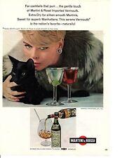 1967 MARTINI & ROSSI ~ ORIGINAL PRINT AD