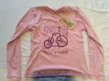 "Apres Velo Women's L/S 'Object of Desire"" T-shirt - Musk (Pink) - Size S"