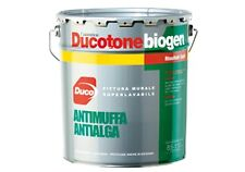 PITTURA MURALE IDROPITTURA  DUCO MURO ANTIMUFFA ANTIALGA DUCOTONE BIOGEN litri 5