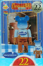 Disney X Pixar Christmas Party 2013 Bearbrick 100%  No.22 Ratatouille Medicom h#
