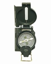 MIL-TEC Ranger Army Kompass Metallgeh. oliv Wanderkompass Marschkompass Kompaß