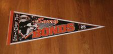 1993 Barry Bonds San Francisco Giants pennant vintage original