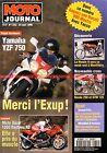 MOTO JOURNAL 1232 Essai Road Test GUZZI DAYTONA 1000 RS YAMAHA YZF 750 KTM 125
