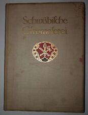 Leo Balet: Schwäbische Glasmalerei. 1912. Viele Abbildungen.