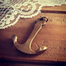 Vintage Style Large Solid Anchor Pendant Antique Bronze Charm Nautical