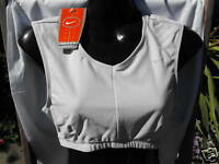 BNWT Ladies Sz 14 NIKE Brand Dri Fit Lilac Training Athletic Crop Top