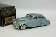 Brooklin 1/43 - Pierce Arrow Silver Arrow Bleue 1933