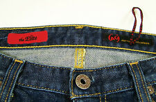 AG Adriano Goldschmied The Elite Dark Wash Blue Jeans Made USA Lycra Womens 31R