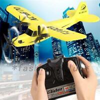 Educational 2.4G 2CH Glider RC Jets Remote Control Airplanes Foam Plane Fighter