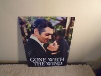 """GONE WITH THE WIND Metal Sign 12"""" x 16"""", Desperate Enterprises, Made in USA"""