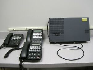 Comdial DX120 With Voicemail and 3 Comdial 7260-00 Digital Business Phones
