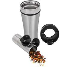 Planetary Design Stainless Steel Tea Infuser Mug 16-ounce Travel Tumbler