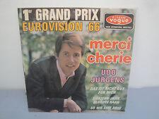Vinyle 45 Tours - Udo Jurgens - Merci Chérie -1966
