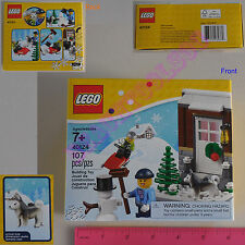 New LEGO 2015 Christmas Limited Edition Winter Fun 107 Pcs Set 40124 - Gift