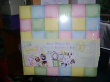 Baby memory kit scrapbook 20 pages new in wrapper 12x12
