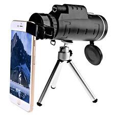 OPTIK Fernrohr BAK4 Nachtsicht Monokular Spektiv 40X60 HD Ferngläser Teleskop