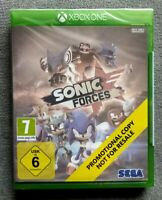 Sonic Forces Xbox ONE Xbone  promo (The Ultimate Singleplayer Sonic Game 2017)