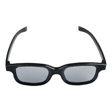 high-quality Black Round Polarized 3D Glasses DVD LCD Video Game Theatre