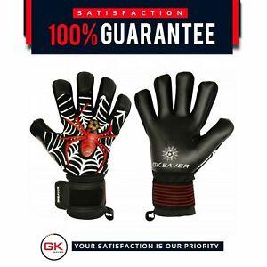 Football Goalkeeper Gloves GK Saver Spider Trap Pro Negative Cut Goalie Gloves