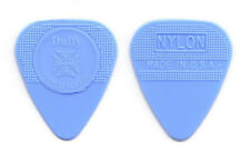 The Cult Billy Duffy Blue Herco Guitar Pick - 1 Dot Variation - 2011 Tour