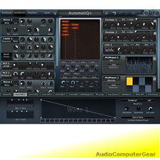 u-he ZEBRA2 Virtual Modular Synthesizer Zebra 2 Software Synth Plug-in NEW