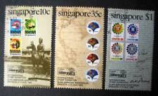 Pre-cancelled Singapore Stamps - Bangkok International Stamps Exhibition 1983